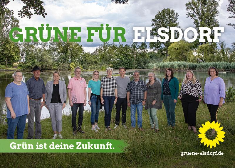 Die Grünen in Elsdorf Titel Flyer